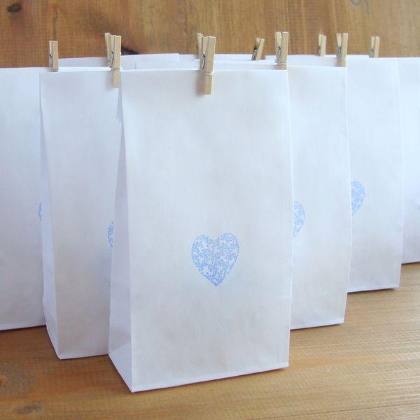 10 sztuk torebek na upominki w AKo.Art Ceramika na DaWanda.com