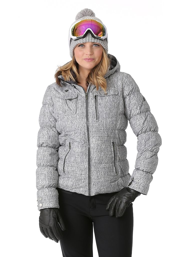 Women's Ski Jacket HydroBlock® Waterproof and Breathable Fabric