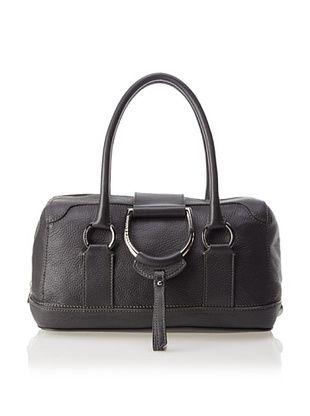 -64,800% OFF Dolce & Gabbana Women's D-Ring Satchel, Dark Grey
