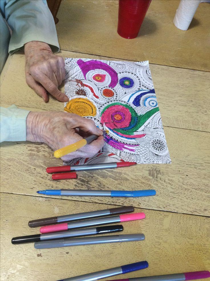 401 beste afbeeldingen over dementia programming op for Easy crafts for adults with dementia