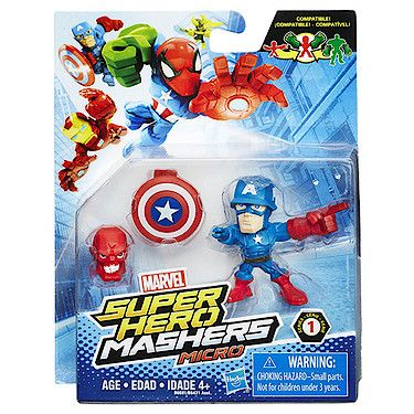 Marvel Super Hero Mashers Micro Figure - Captain America