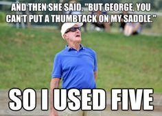 Oh, George Morris.