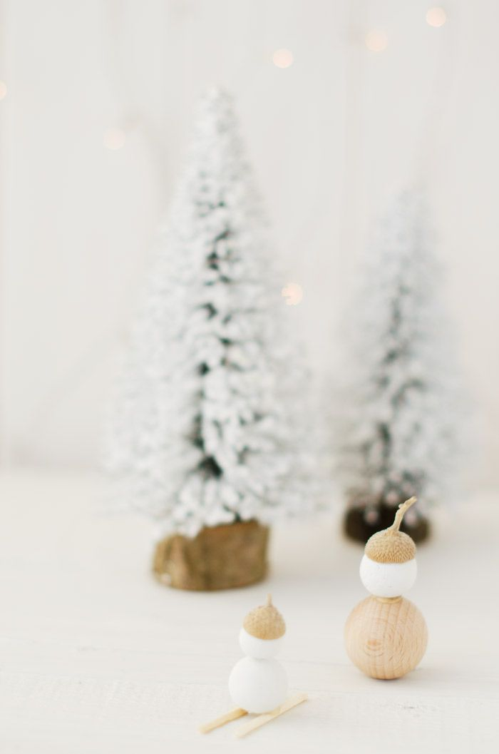 Adornos Navideños, bolas de madera