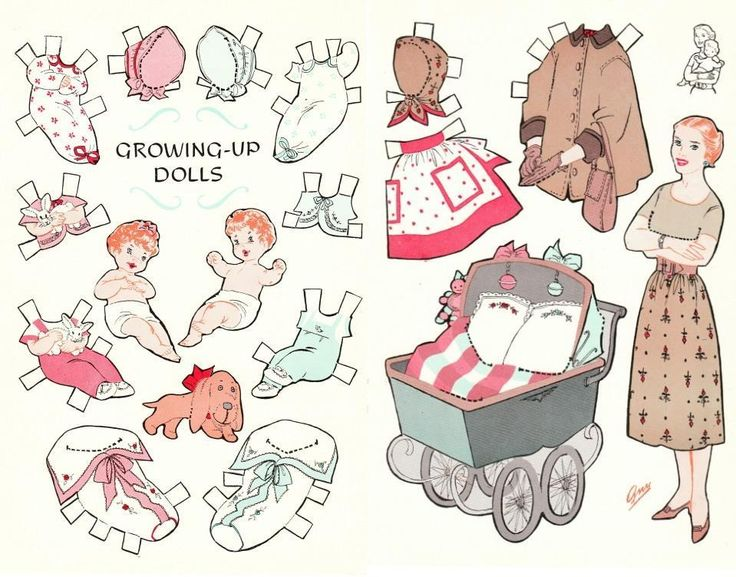 331 best Baby Paper Dolls images on Pinterest Paper dolls