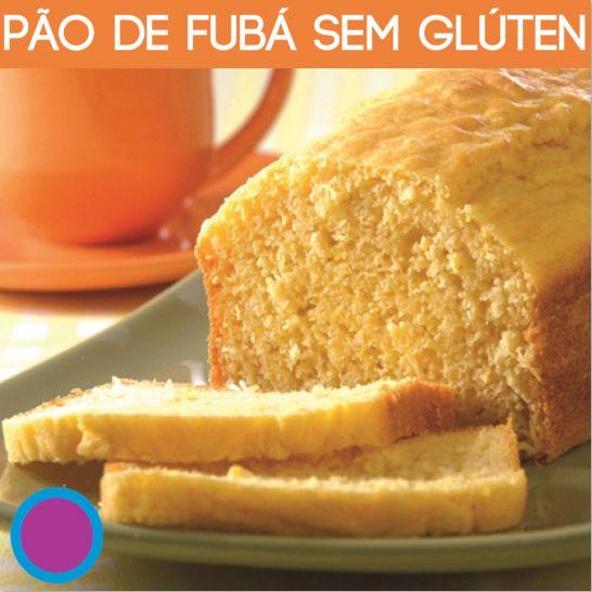 pão de fubá sem trigo