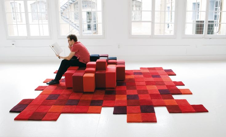 Design Milk offers a roundup of pixelated furniture and home accessories that