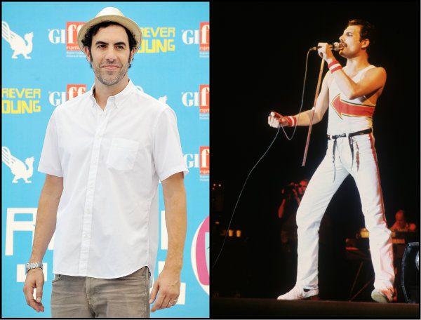 Queen explica por que Sacha Baron Cohen saiu da biografia de Freddie Mercury http://glo.bo/1h5i41h
