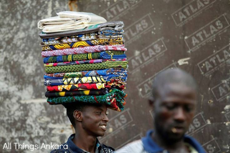 "Ankara Photo of The Day: ""Lagos Ankara Seller"" by Akintude Akinleye"