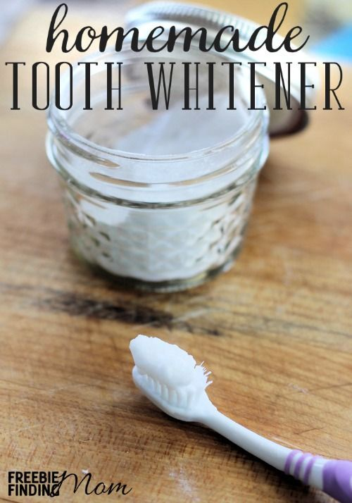 Would you like sparkling white teeth but without the high price tag or time commitment? This homemade tooth whitener is effective, inexpensive, easy to make, and easy to use. Pinned over 22,900 times.