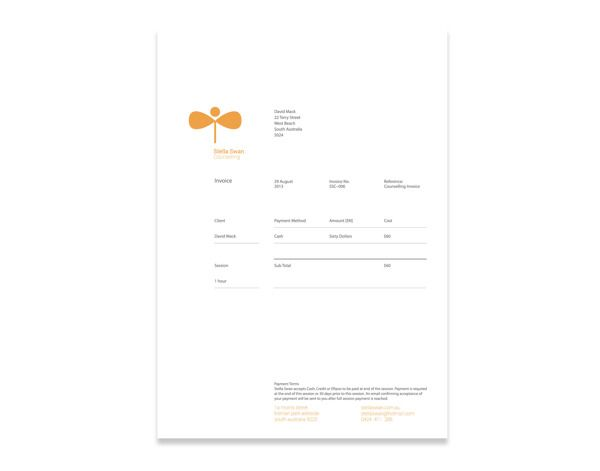 24 best Design Invoices images on Pinterest Invoice design - mock invoice template