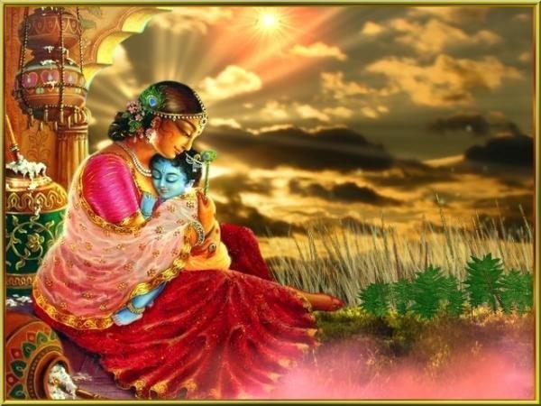 Janmashtami: Mata Yashoda With Bal Krishna