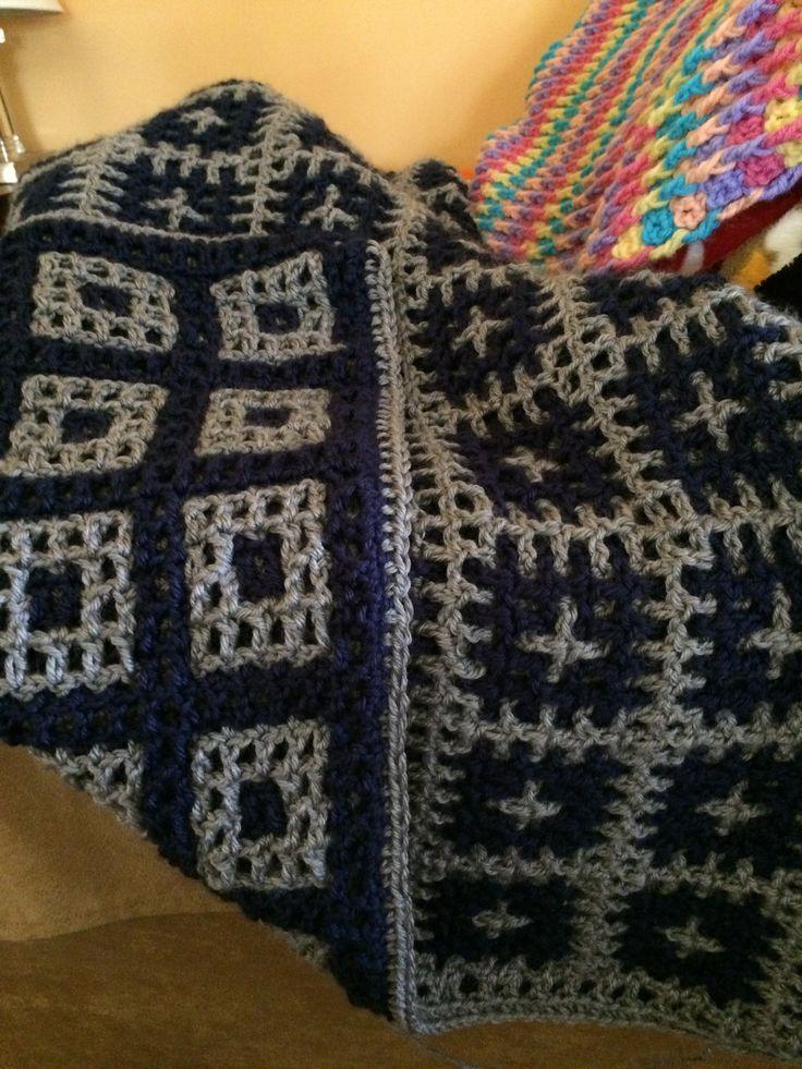 12 best interlocking crochet images on Pinterest | Crochet patterns ...