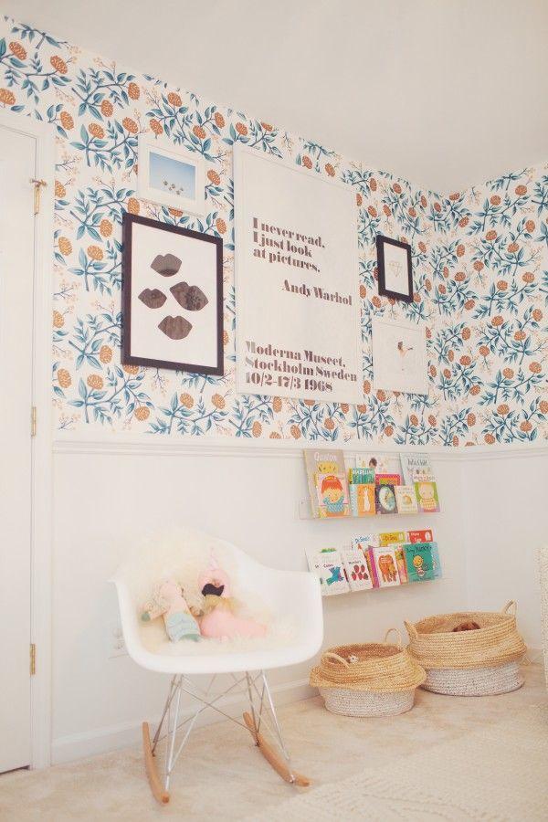 Peonies (Copper) nursery   Comfy Cozy Couture