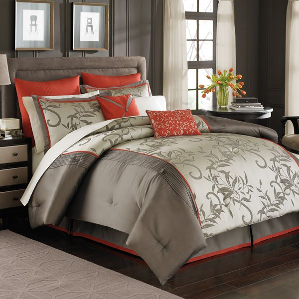 Manor Hill Mirador Bedding Comforter Set-wow, a comforter that me and my husband both like! That means I probably won't be able to find it anywhere