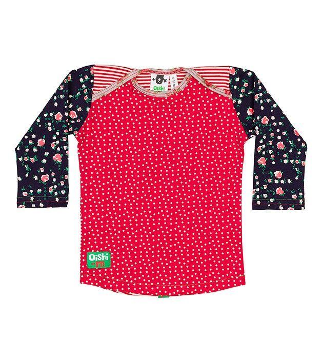 Creatish Longsleeve T Shirt, Oishi-m Clothing for Kids, Winter 15, www.oishi-m.com