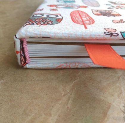 Блокноты ручной работы. Заказать Скетчбук А5 с совушками (белые+крафт листы). WARM BOOKS блокноты ручной работы. Ярмарка Мастеров.