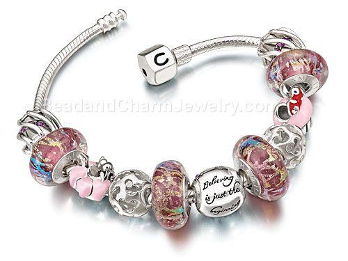 Disney Charm Bracelets Chamilia Jewelry Pandora Compatible