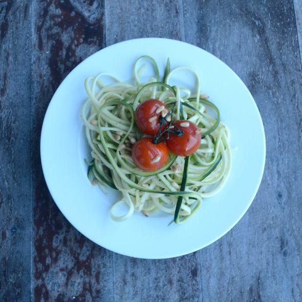 I Love Health | Courgetti recept || Skinny pasta van courgette | http://www.ilovehealth.nl