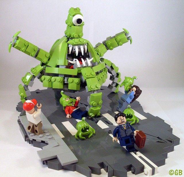 Лего картинки самоделки