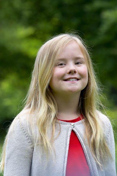 Ariane des Pays-Bas, 9 ans, née en 2007