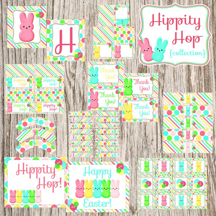 {Freebie} Hippity Hop Collection!