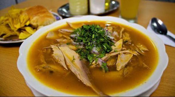 EL ENCEBOLLADO El encebollado es un plato típico ecuatoriano originario de la región costa, a pesar de que no hay evidencia concret...