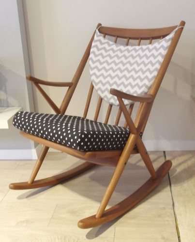 BRAMIN-Rocking-Chair-Schaukelstuhl-MID-CENTURY-Danish-Design-by-FRANK-REENSKAUG