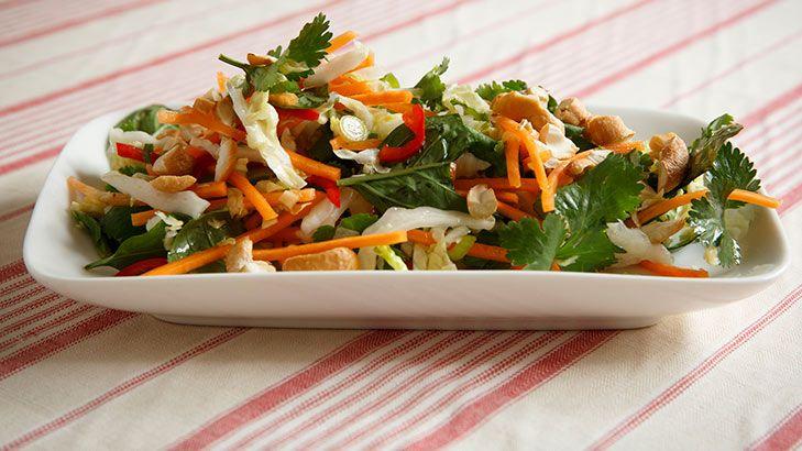 Frank Camorra's Vietnamese coleslaw.