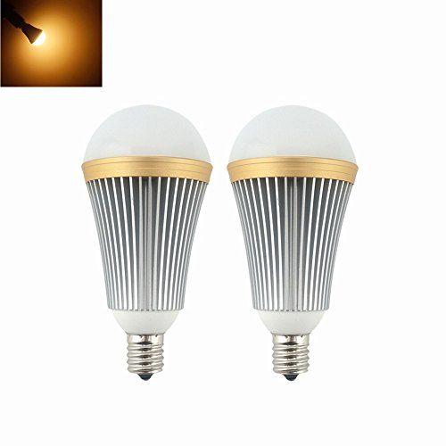 Bonlux E17 Edison Led Light Bulb 7 Watts 650lm 120 Volts Intermediate E17 Base Warm Whitepack Of 2 Led Light Bulb Light Bulb Light Decorations