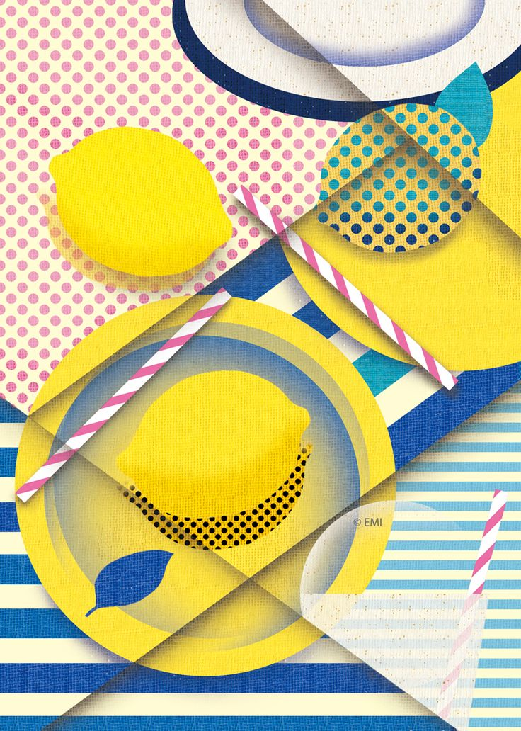 Lemons on Behance