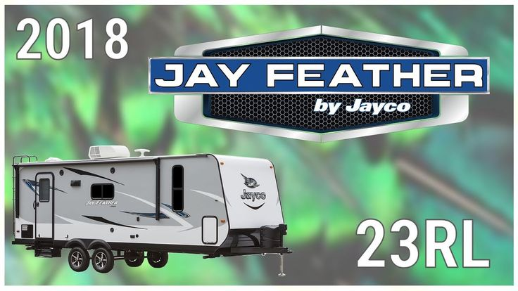 2018 Jayco Jay Feather 23RL Travel Trailer RV For Sale Hamiltons RV Outlet Explore this 2018 Jayco Jay Feather 23RL and more at http://ift.tt/2i8nHsF or call Hamiltons RV today at 989-702-2735!  Have big fun without a big price tag and enjoy family time with a new 2018 Jay Feather 23RL. Find yours today at Hamiltons RV Outlet!  This is a double-axle travel trailer with Equa-Flex suspension an attractive graphics package one slide out spare tire and cover exterior TV bracket with 110V…