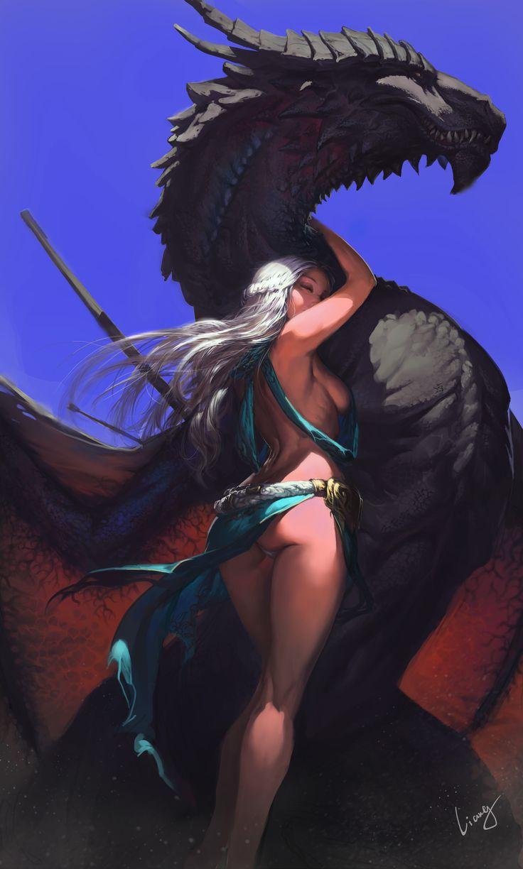 权利的游戏 冰与火之歌 A Song of Ice and Fire Game of Thrones Dragon Mother