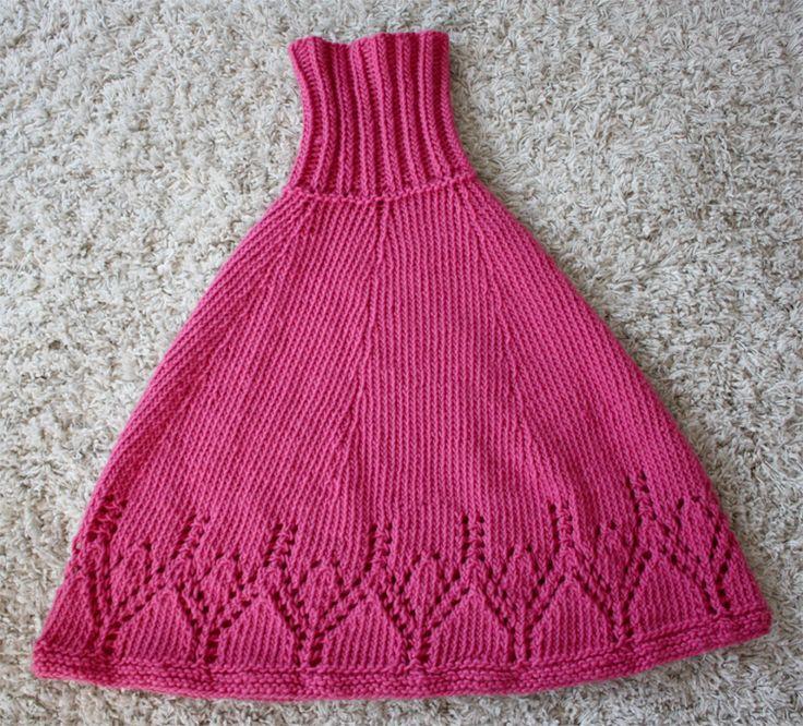 ta-dah! it's finished! - knitted poncho via 3polkadots