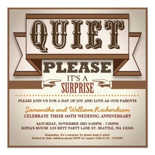 197 best funny wedding invitations images on pinterest fun wedding vintage typography unique anniversary invitations stopboris Choice Image
