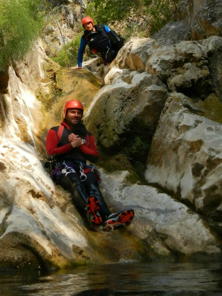 "Experience a natural slide into fresh water pools during the Medjurecje Canyon excursion as part of our ""Adrenaline"" multi-activity package.Canyoning."