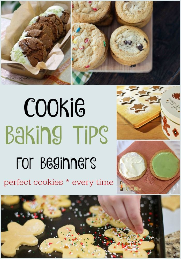 If you don't learn from a mom, where to you learn to make homemade cookies? The internet, of course! I decided to share a few cookie baking tips for beginners in case a few of you need a bit of direction before getting started.