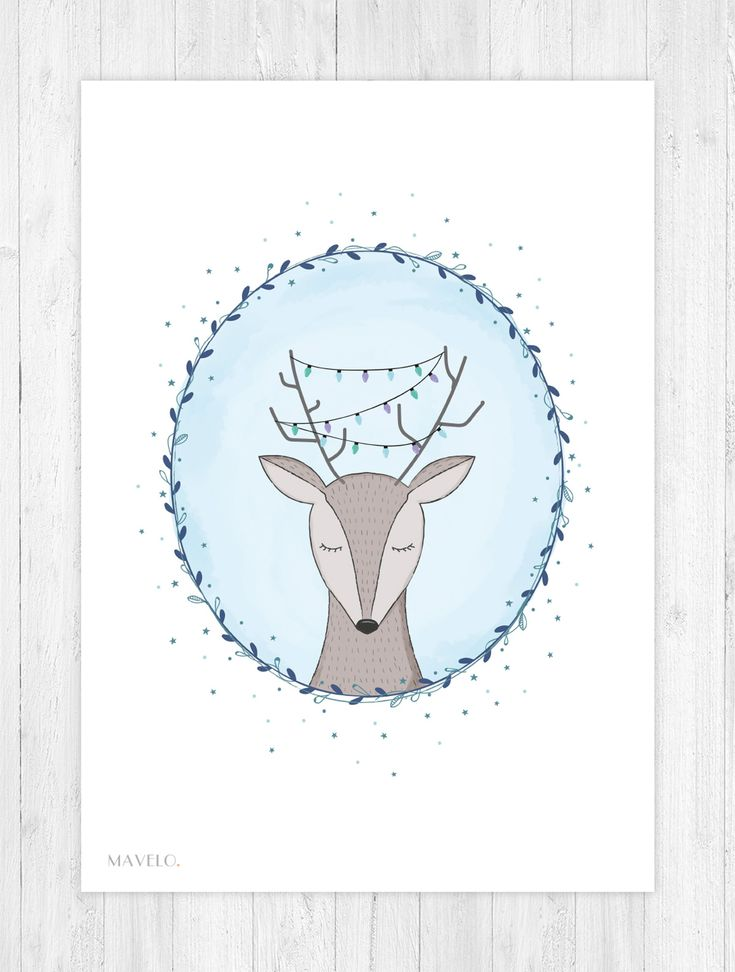 Zimowe plakaty / Plakaty skandynawskie / Freebies posters