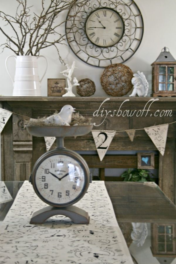 17 best images about mantel decorating ideas on pinterest for Mantel display ideas