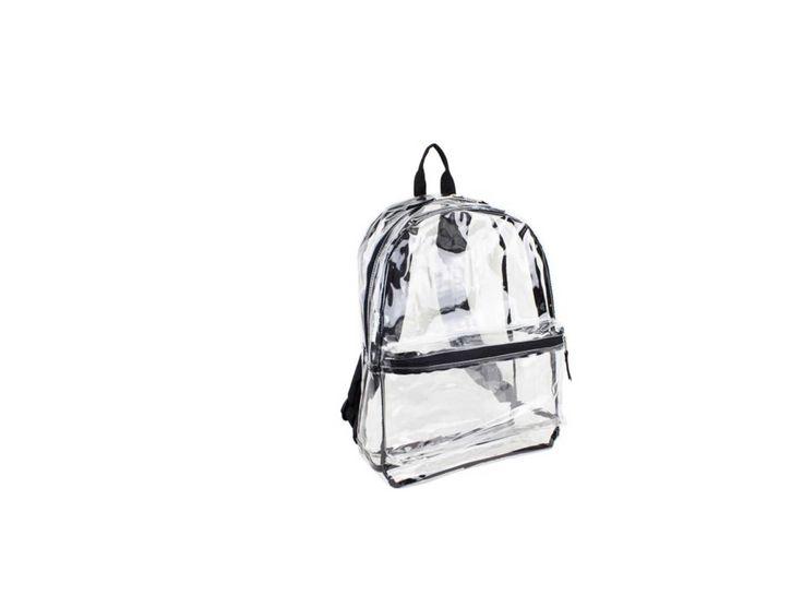 8719f5b5a9 White Clear Backpacks Walmart