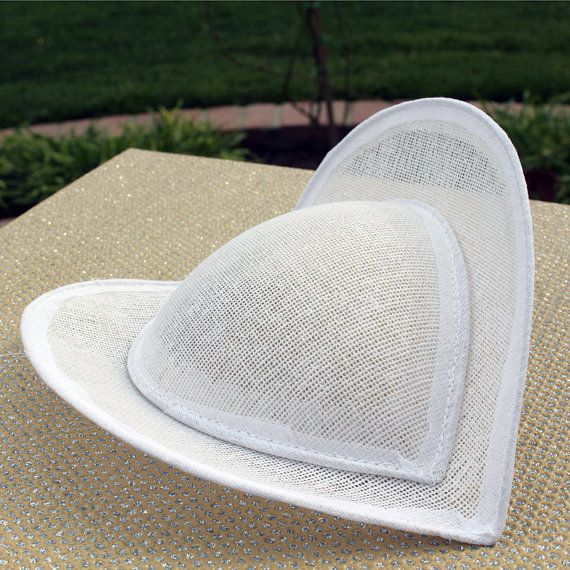 Heart Shaped Butterfly Hennin Crispinette Caul Medieval Headdress Costume Hat Base Buckram Millinery Supply Etsy - MoxieMilliner - $36.50