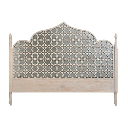 Tangier King Headboard Grey Wash Beds Beds Amp Storage