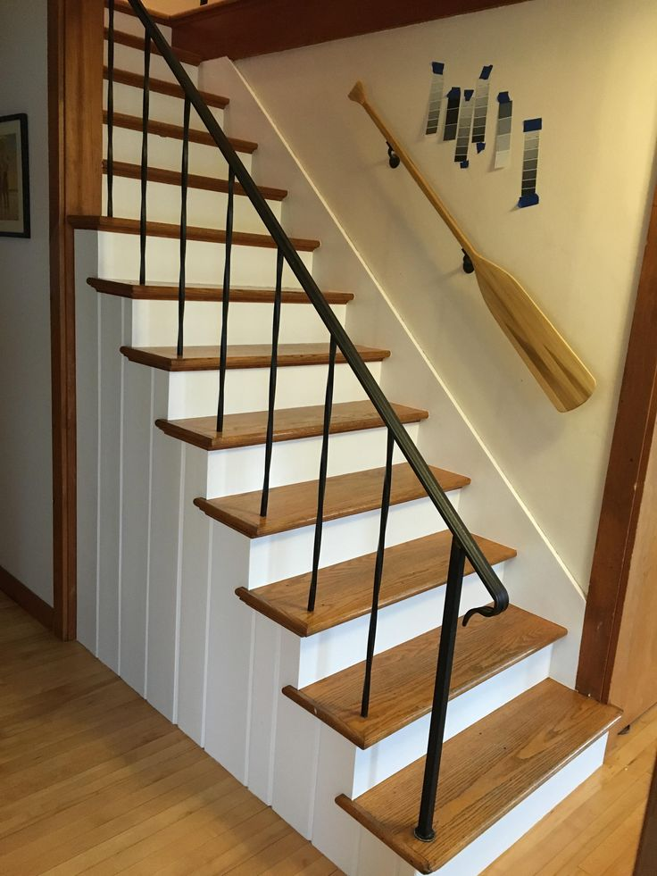 Best 9 Best Painted Stair Risers Images On Pinterest Paint 640 x 480