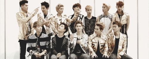 Have you ever looked at EXO and was like there are so many and they're all moving at once..