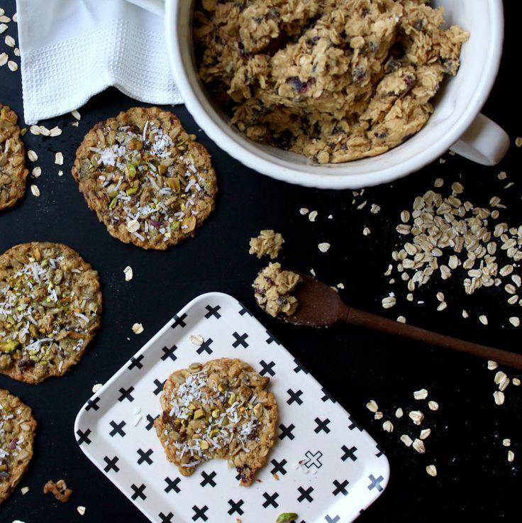 Oatmeal Trail Mix Cookies