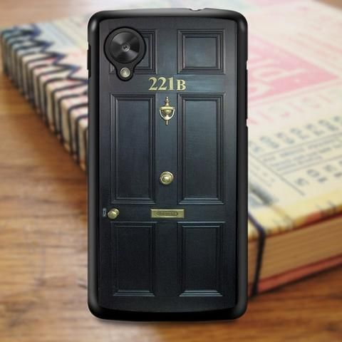 221b Door Nexus 5 Case