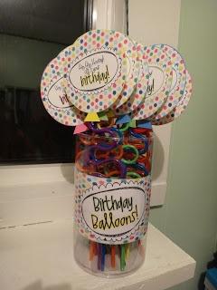 Birthday straws -- the kids love them!