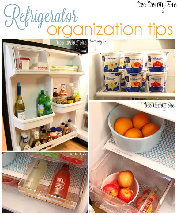 Great refrigerator organization tips! I actually really hate refrigerators because they always seem so unorganized, but maybe this will help!