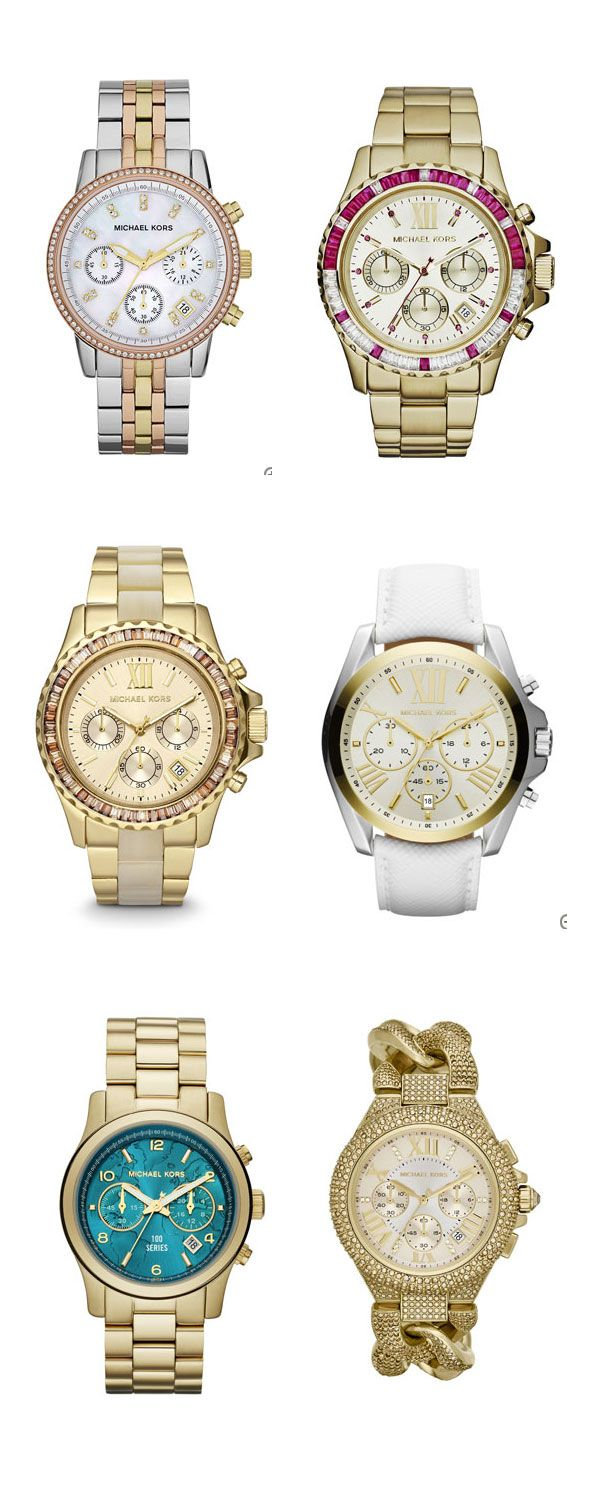 Beautiful Michael Kors watches http://rstyle.me/n/xdxfnyg6