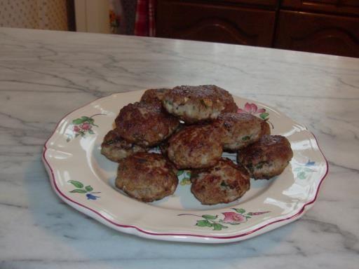Boulettes de viande à la Sicilienne : Recette de Boulettes de viande à la Sicilienne - Marmiton
