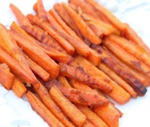 Запеченная пряная морковь